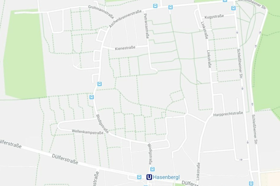 Die Tankstelle in der Dülferstraße wurde überfallen; Polizisten stellen in der Grohmannstraße den falschen Täter.