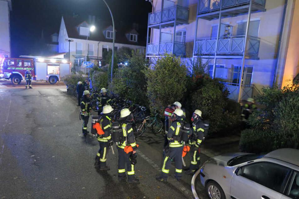 Schreckliche Bilanz eines Feuers in Freising: Zwei Studenten (19, 20) sterben