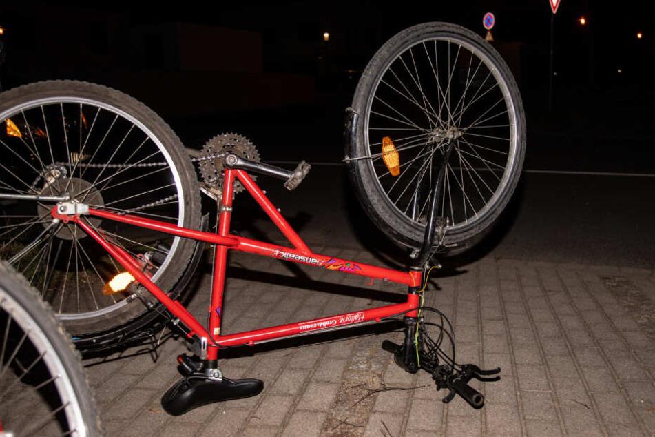 Das Fahrrad des 13-Jährigen.