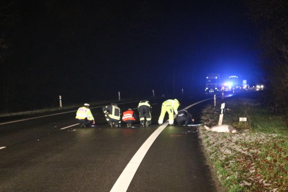 Polizistin wird bei der Arbeit von Auto erfasst und stirbt