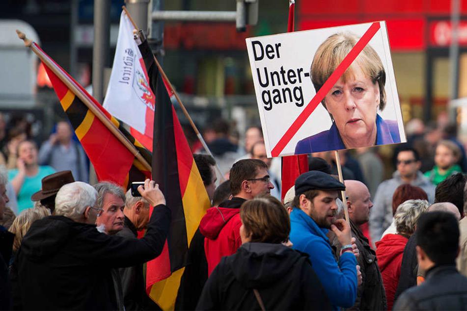 Die Dokumentation dreht sich um das rechtspopulistische Bündnis PEGIDA in Dresden.