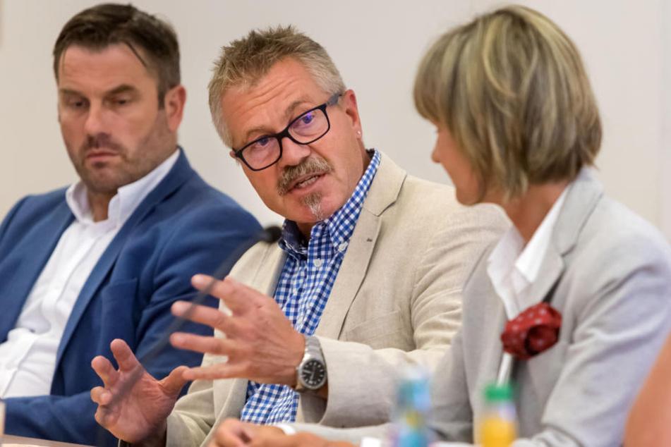 Ordnungsbürgermeister Miko Runkel (56, parteilos) erhofft sich eine höhere objektive und vor allem subjektive Sicherheit durch die High-Tech-Überwachung.
