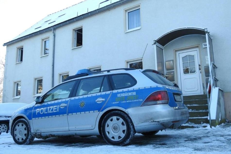 In diesem Haus in Sornzig sind die beiden Leichen gefunden worden.