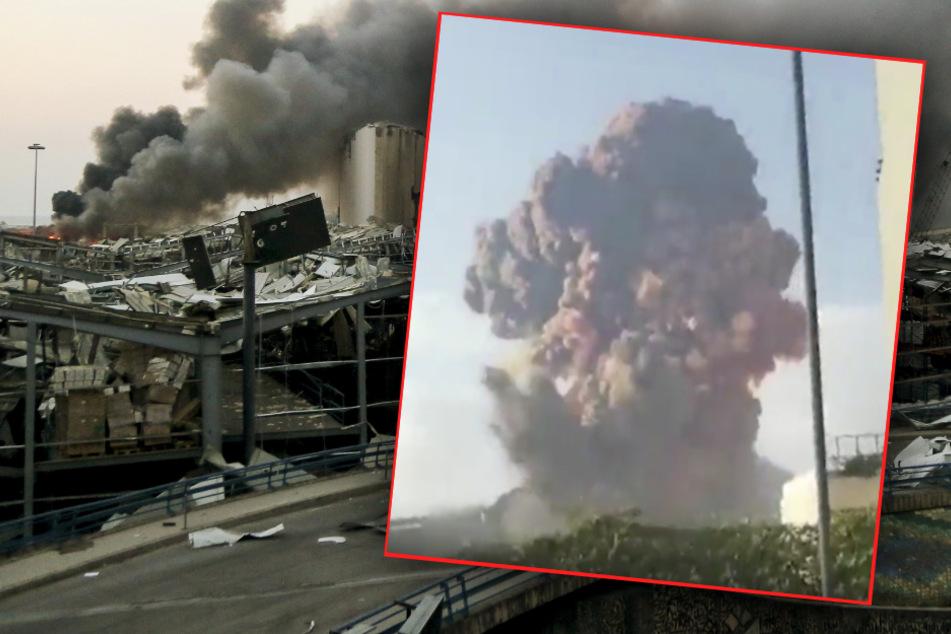 Schreckliche Szenen in Beirut: Explosion in der Stadt! Mindestens 70 Tote, mehr als 2750 Verletzte