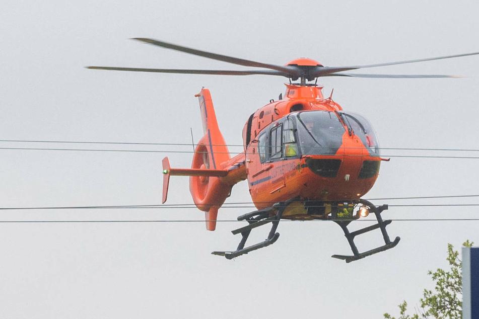 Nach einem Frontal-Crash auf der Insel Rügen musste ein 37-jähriger Stralsunder mit dem Rettungshubschrauber in eine Klinik transportiert werden. (Symbolfoto)