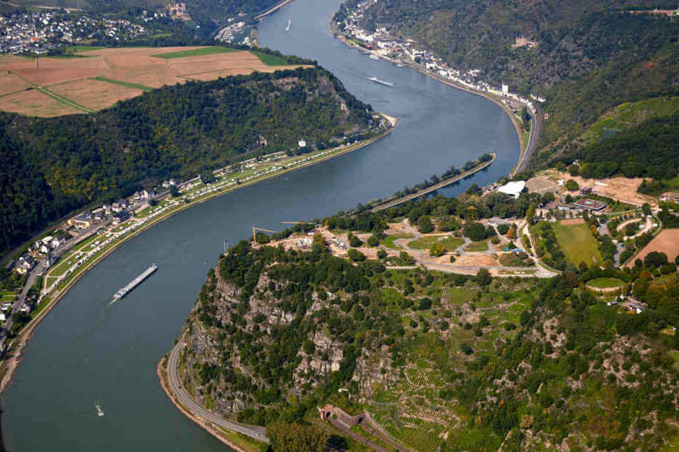 Das Fahrzeug trieb auf dem Rhein davon. (Symbolbild)