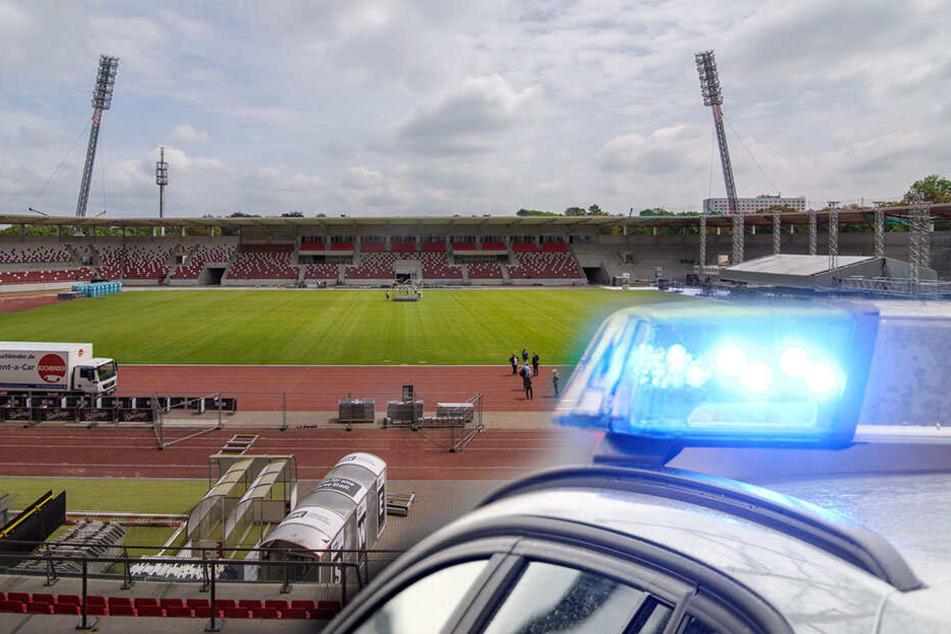 Gewalt bei Spiel von Rot-Weiß Erfurt: Vier Polizisten verletzt