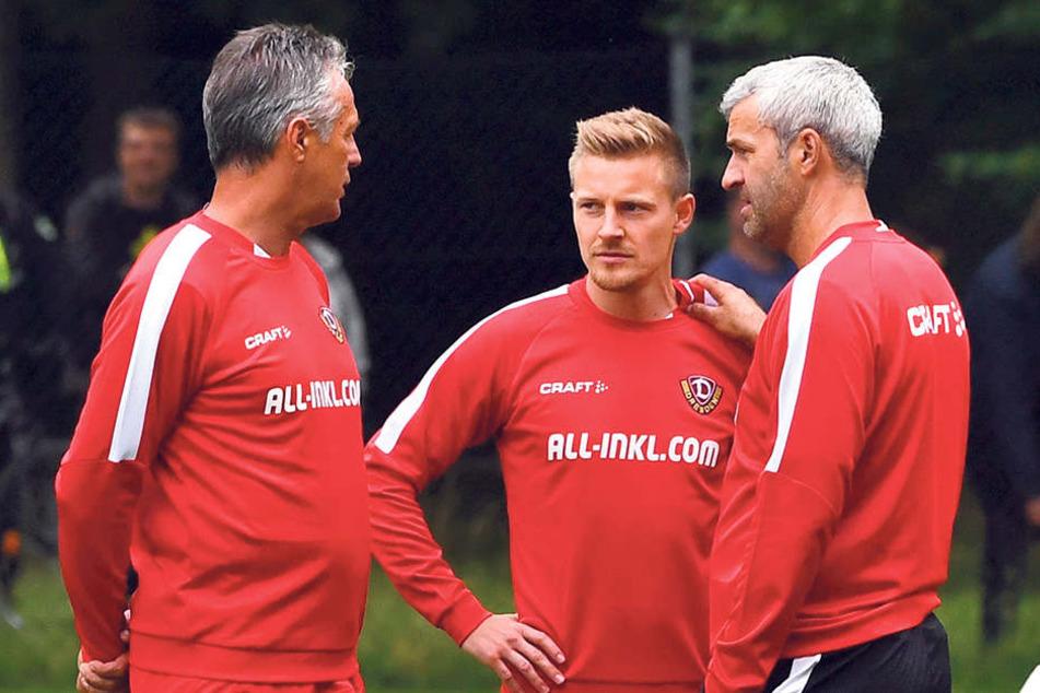 Neu im Trainerteam: Felix Schimmel (M.). Der bisherige Scout ist nun Co- und Spezialtrainer für die Spielanalyse.