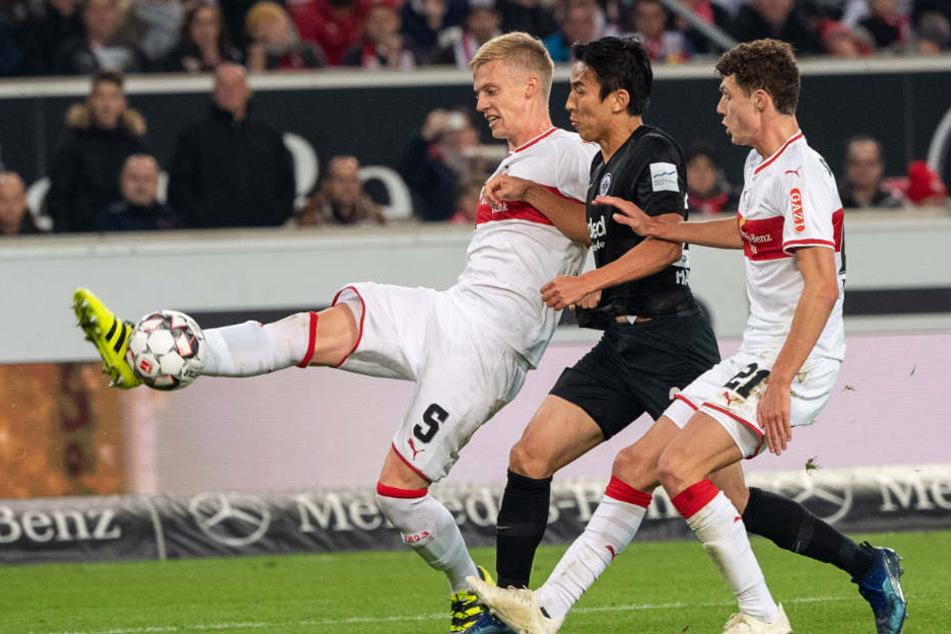 Gegen die Eintracht ging der VfB unter: Heute gegen Nürnberg muss ein Sieg her.