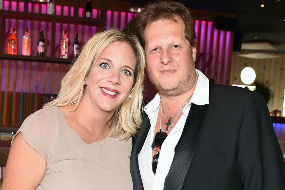 Jens Büchner mit seiner Bald-Ehefrau Daniela Karabas.