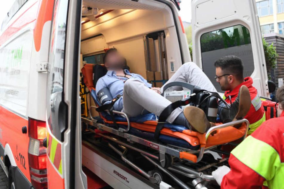 Die Familie des Notfallpatienten wurde plötzlich ausfallend (Symbolfoto).
