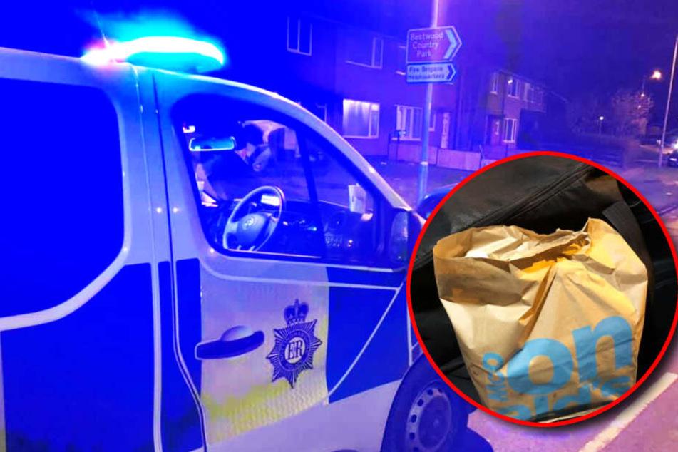 Polizei übernimmt McDonald's-Lieferdienst: Das ist der Grund für die Aktion!