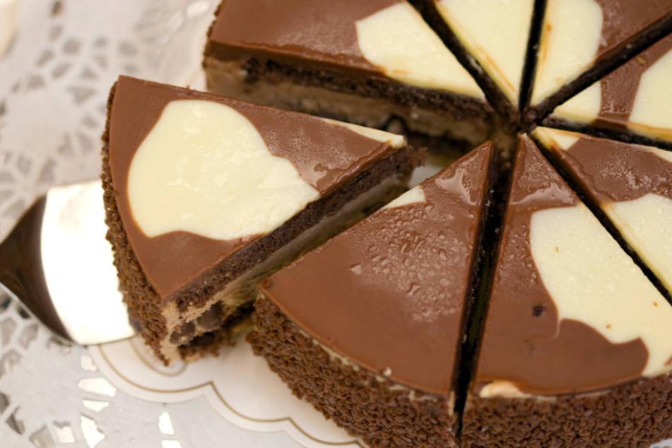"""Die """"Milka Kuhflecken""""-Torte ist von Coppenrath & Wiese."""