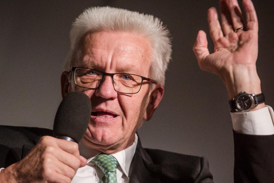Will mit Justizminister Guido Wolf (CDU) Gesundheitsversorgung von Häftlingen thematisieren: Baden-Württembergs Ministerpräsident Winfried Kretschmann (Grüne). (Symbolbild)