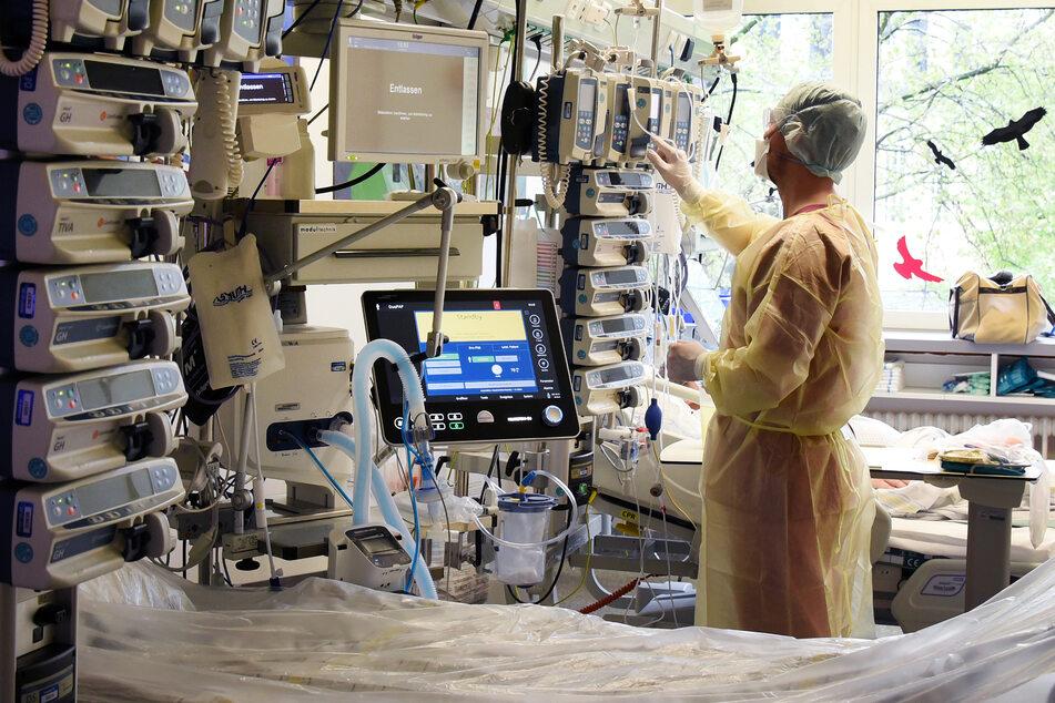 Hoffentlich sorgt die Delta-Mutante nicht auch in Deutschland bald wieder für volle Kliniken (Symbolbild).
