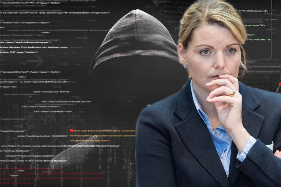Hat ein Hacker einen Cyber-Angriff auf das heimische Netzwerk von Christina Schulze Föcking verübt?