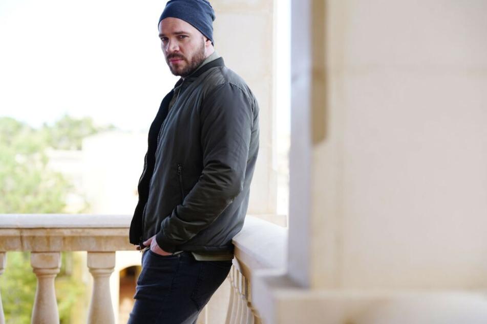 Patrick Heinrich spielt Ex-Bösewicht Erik bei GZSZ.