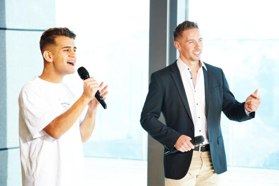 Ramon Kaselowsky (r.) und sein Duettpartner Elvin Kovaci müssen in Sölden gemeinsam vor die Jury.