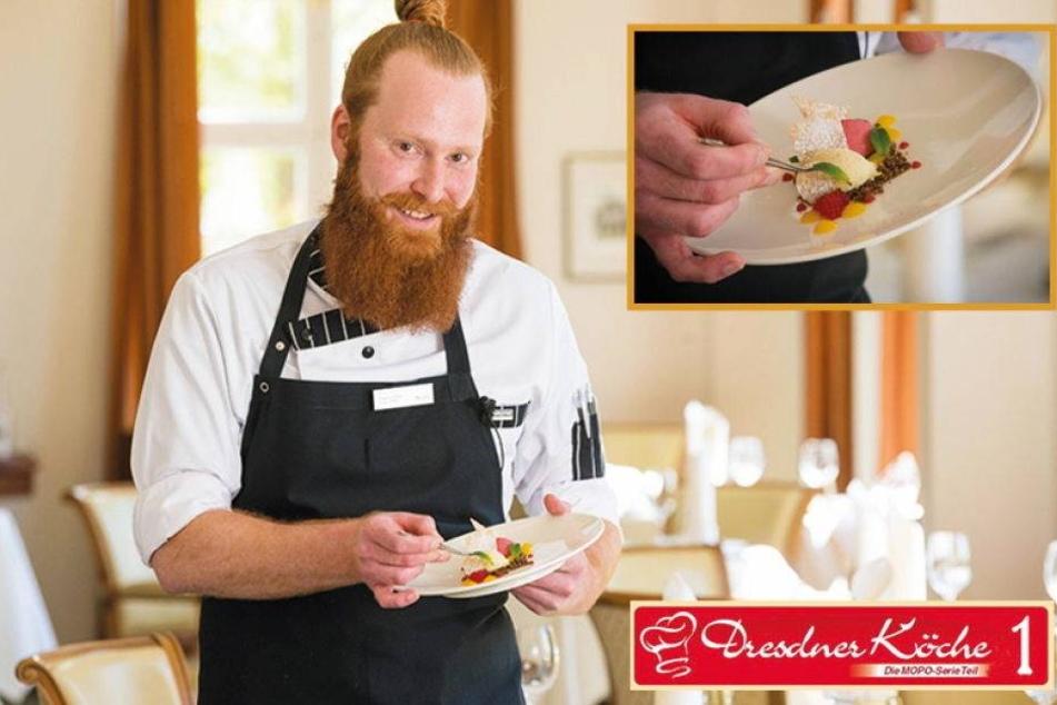 Dresdens Köche: Dieser coole Typ startet unsere neue Serie!