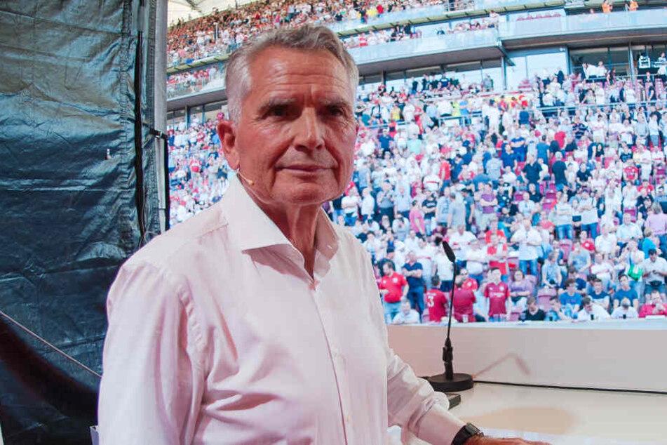 Der umstrittene Präsident des VfB Stuttgart: Wolfgang Dietrich.