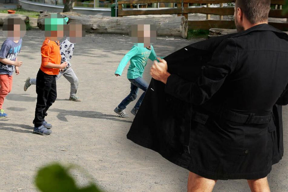 Gleich dreimal im Oktober entblößten sich Unbekannte vor verschiedenen Grundschulen in Berlin. (Symbolbild)