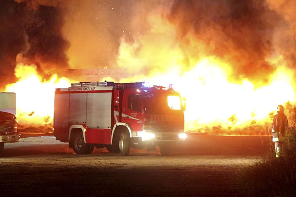 Das Feuer war kurz nach Mitternacht ausgebrochen.