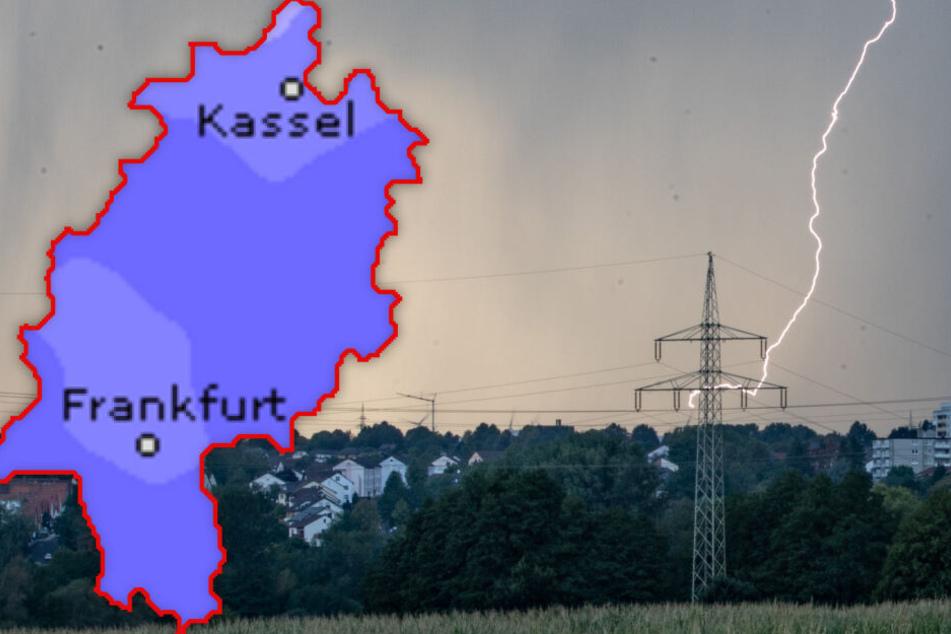 Chaos-Sommer in Hessen geht weiter: Folgen auf Hitzehammer nun heftige Gewitter?