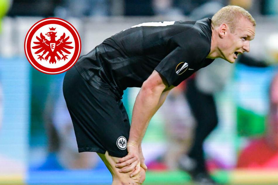 Eintrachts Rode weiter im Verletzungspech: Europa-League Einsatz in Gefahr?
