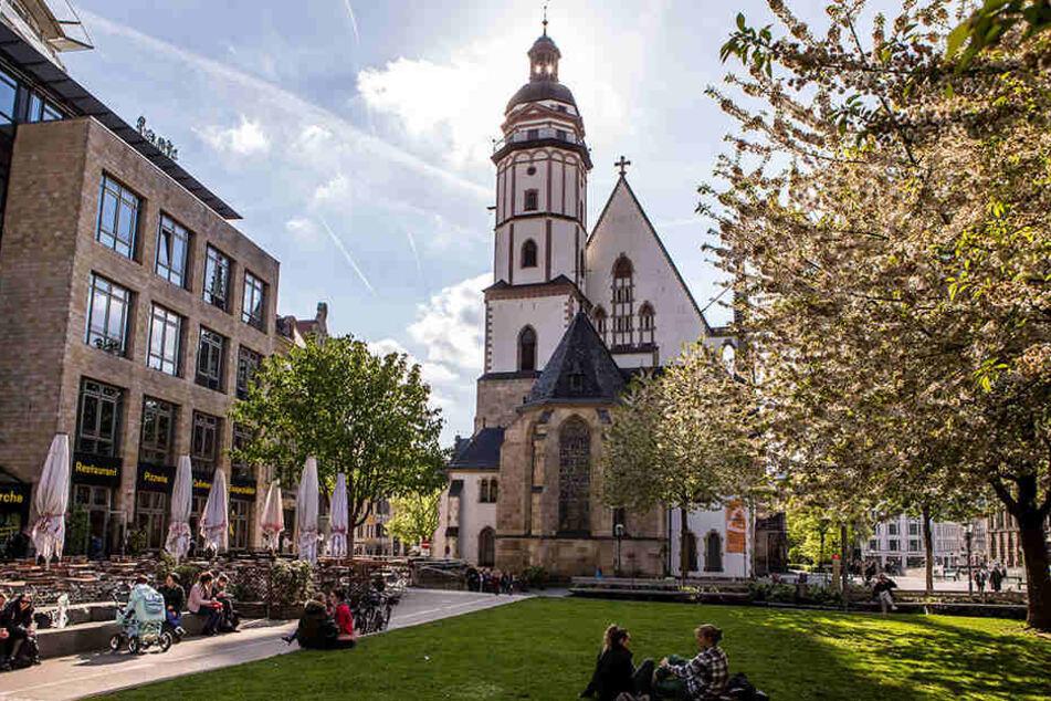 Eines der wichtigsten Wahrzeichen Leipzigs ist dringend auf Spenden angewiesen: Die Thomaskirche.