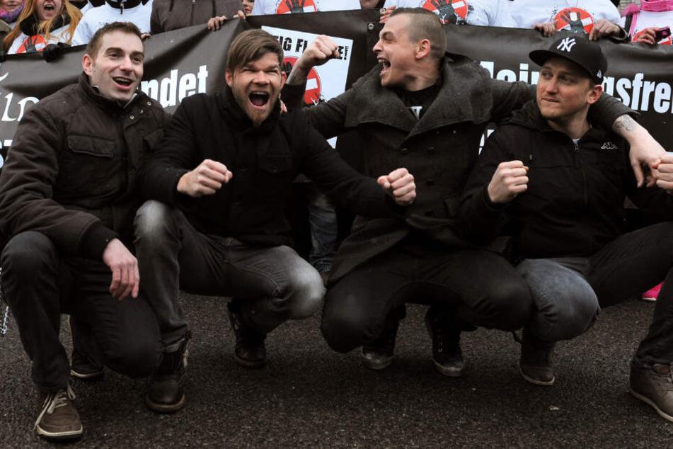 Die Band um Frontmann Philipp Burger (zweiter von rechts) freut sich auf das Konzert in Pahlen.