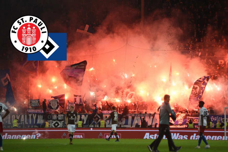 Pyro-Derby: DFB verknackt FC St. Pauli und Hamburger SV zu Rekordstrafe