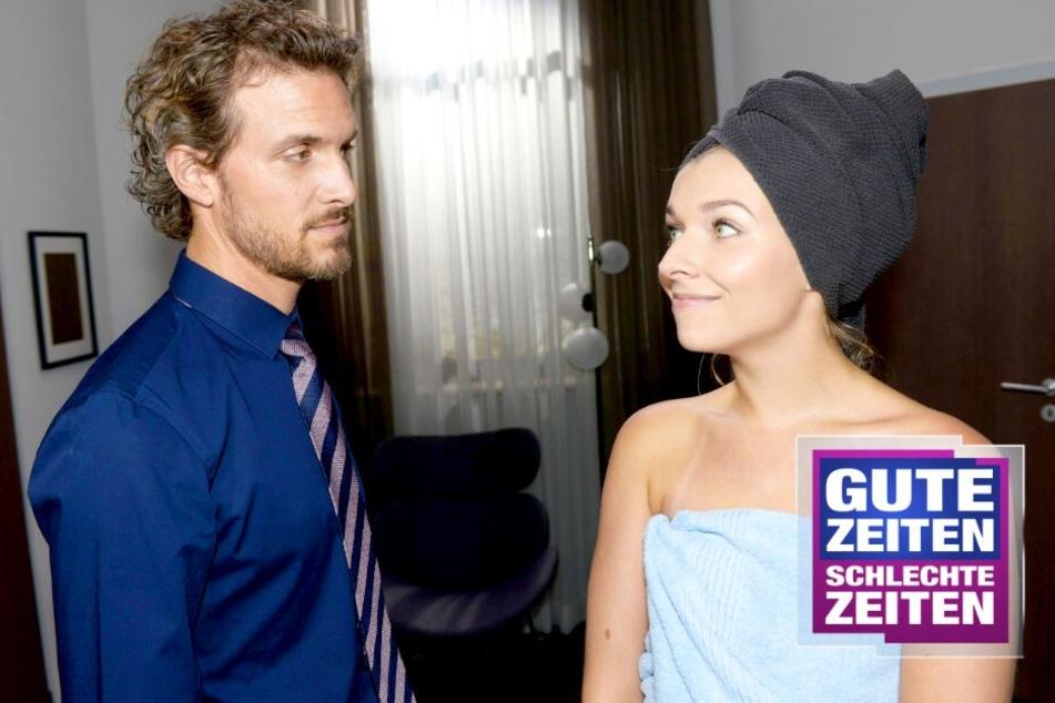GZSZ: Heiße Küsse bei GZSZ! Werden Felix und Brenda das neue Traumpaar?