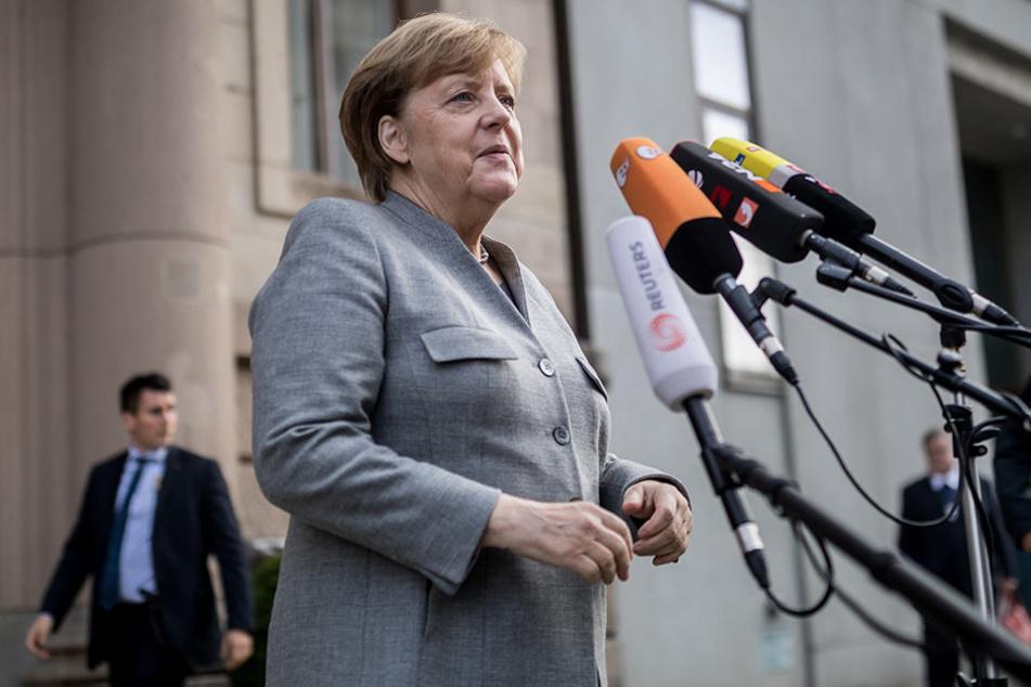 """Angela Merkel 863, CDU): """"Wir brauchen gleichwertige Lebensverhältnisse in allen Teilen."""""""