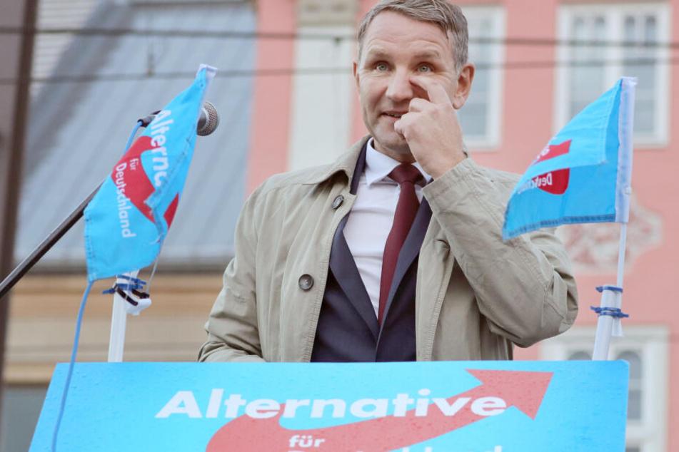 Björn Höcke ist Landesvorsitzender und Spitzenkandidat der AfD bei den kommenden Landtagswahlen.