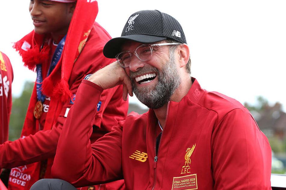 Jürgen Klopp, Trainer der Reds.