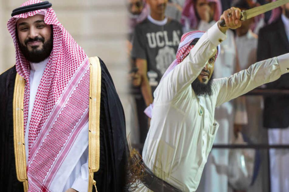 Mohammad bin Salman, Kronprinz des Landes. (Archivbilder)