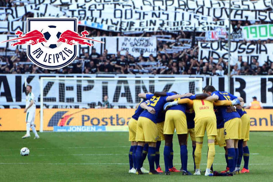 Nach Spruchband-Eklat beim Spiel gegen RB Leipzig: Gladbach-Trainer Hecking greift eigene Fans an
