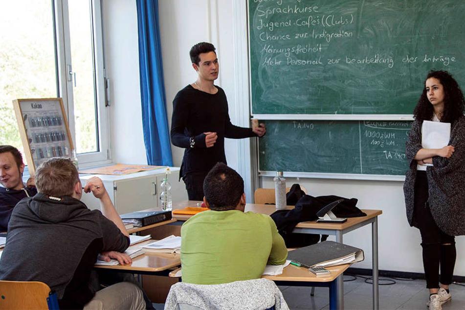 Linke, SPD und Grüne wollen in Dresden eine neue Versuchsschule gründen.