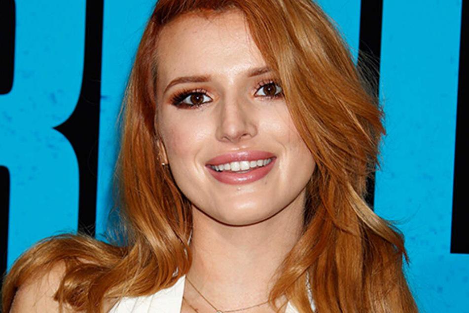 Bella Thorne, Schauspielerin und Sängern.