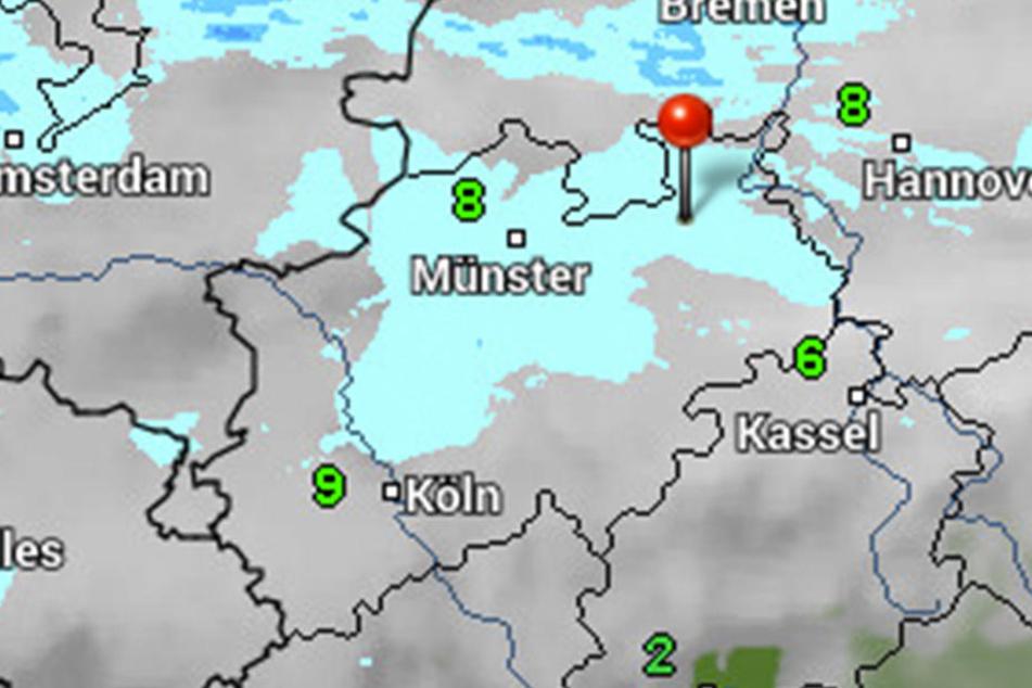 Maximal acht Grad wird das Thermometer in der kommenden Woche anzeigen.