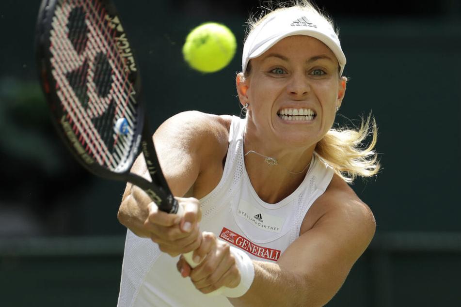 Angelique Kerber wird im kommenden Jahr beim neuen Tennis-Turnier in Berlin an den Start gehen.