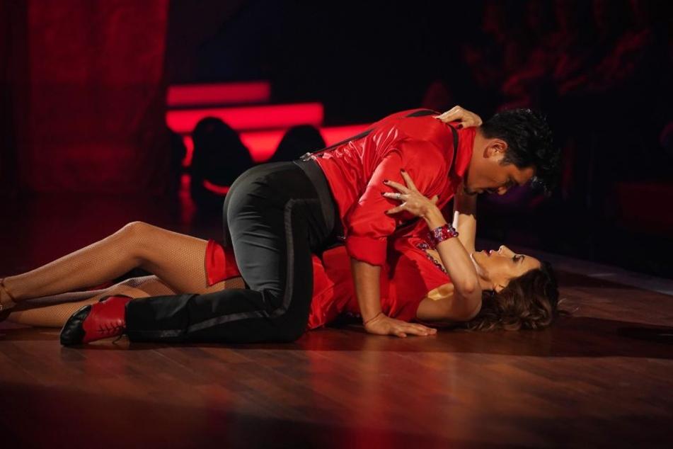 Vor allem Judith Williams bekam für ihre sexy Tanzdarbietung Kritik.