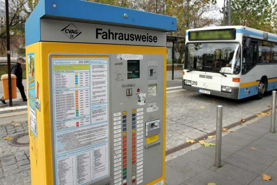 Endlich! Chemnitz bekommt wieder Fahrkartenautomaten
