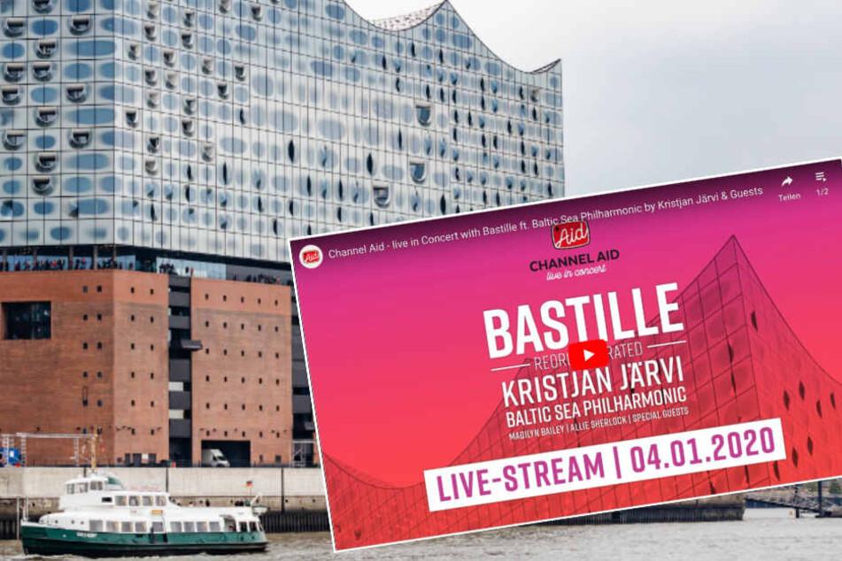 Hamburg: Livestream: Hier könnt Ihr das Bastille-Konzert in der Elphi sehen