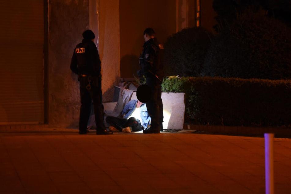 Die Polizei konnte einen Täter festnehmen.