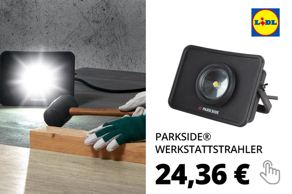 PARKSIDE® Werkstattstrahler mit LED-Licht