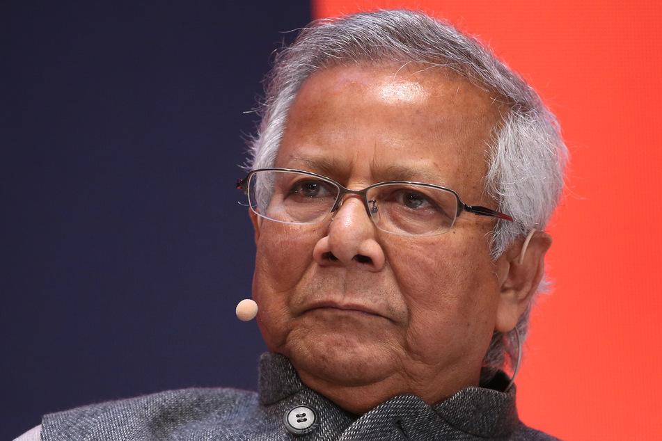 Friedensnobelpreisträger Muhammad Yunus (80).