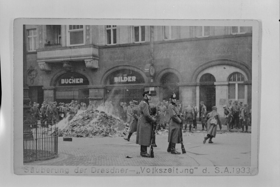 Dresden: Erste Bücherverbrennung: Dresden machte vor 88 Jahren den Anfang