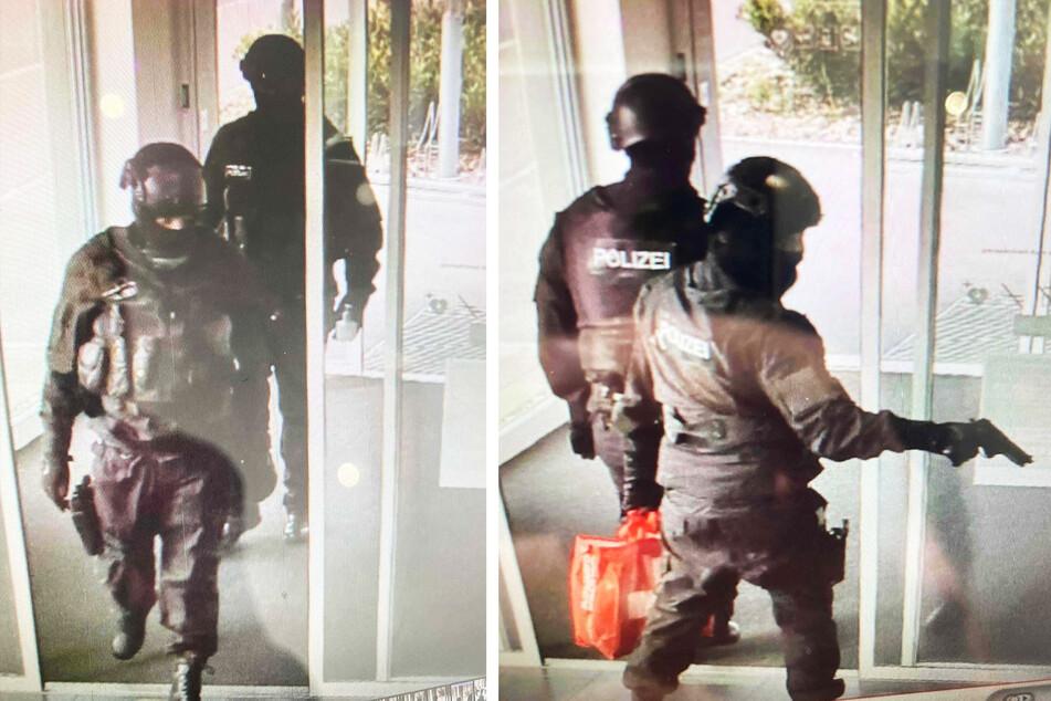 Bewaffneter Banküberfall: Polizei sucht nach Fake-Beamten!