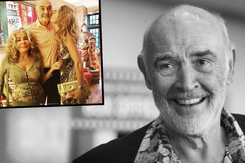 Sean Connery (†90): Eines der letzten Fotos mit der Bond-Legende